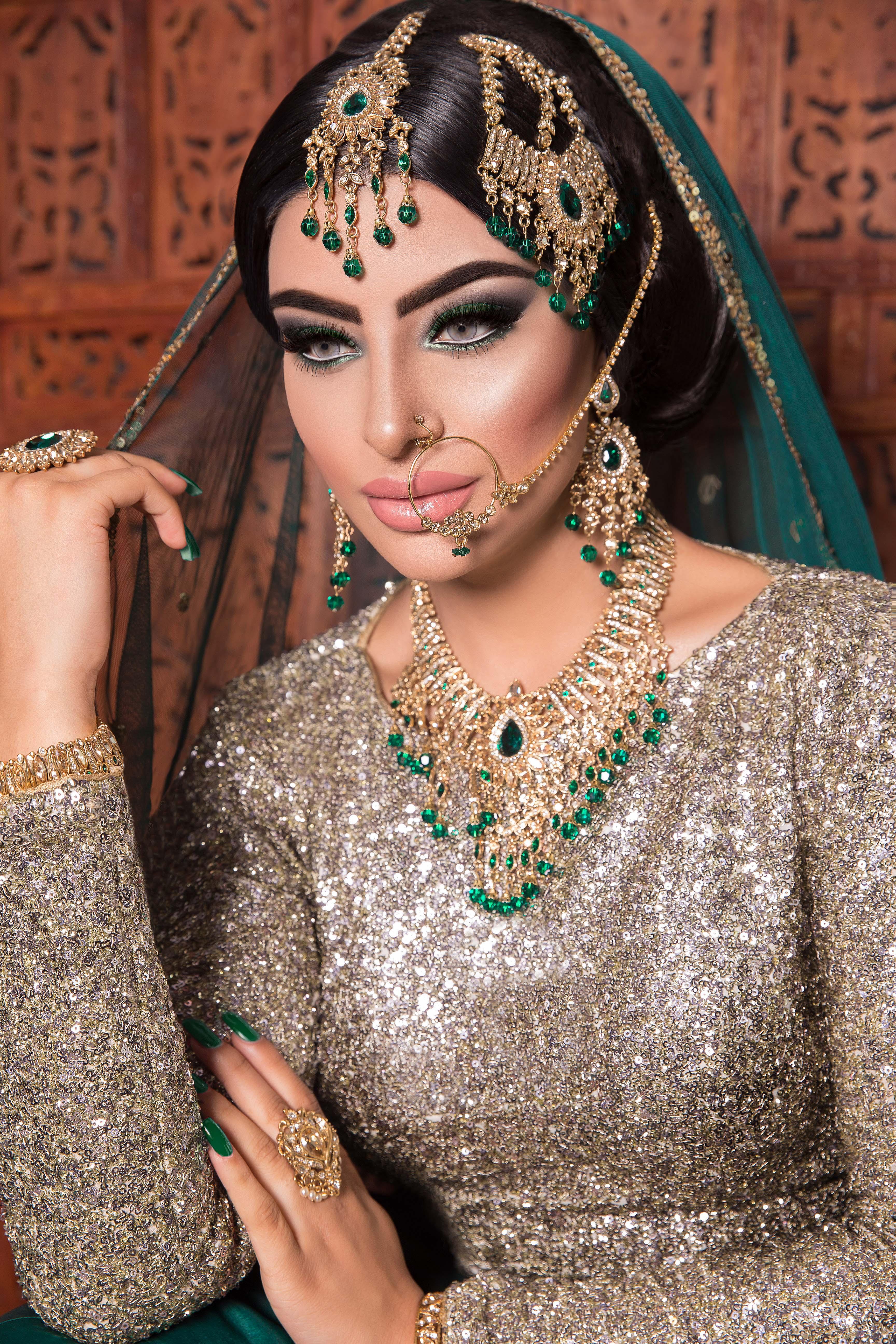 asian wedding bridal makeup london